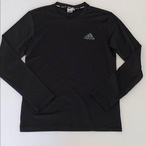 Adidas Men's Long Sleeve Climalite Shirt, Small